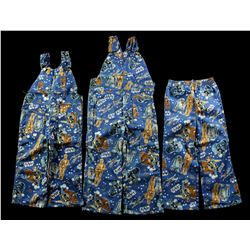 Lot # 628: Child's Pants (1 Style) and Long-Pant Overalls
