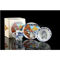 Lot # 634: The World Of Star Wars 3-Piece Child's Set