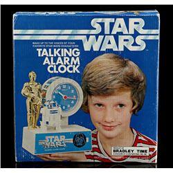 Lot # 636: Star Wars Talking Alarm Clock - Unused [Kazanj