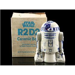 Lot # 638: R2-D2 Ceramic Bank [Kazanjian Collection]
