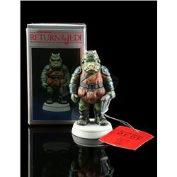 Lot # 647: Hand-Painted Gamorrean Guard Porcelain Figurin
