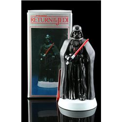 Lot # 649: Hand-Painted Darth Vader Porcelain Figurine [K