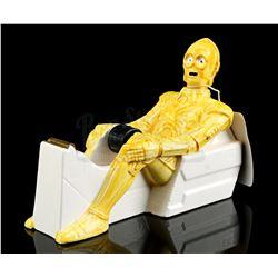 Lot # 650: C-3PO Tape Dispenser With Box [Kazanjian Colle