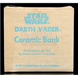 Lot # 652: Darth Vader Ceramic Bank [Kazanjian Collection