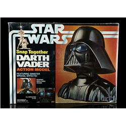 Lot # 656: Snap-Together Darth Vader Model - Sealed [Kaza