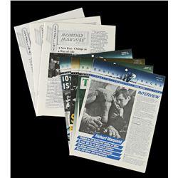 Lot # 675: 7 Lucasfilm News Articles