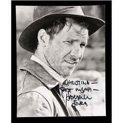 Lot # 681: Harrison Ford-Autographed Indiana Jones Photo
