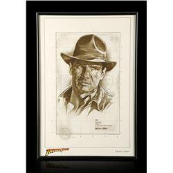 "Lot # 682: Indiana Jones ""Head Study"" Giclée By Lawrence"