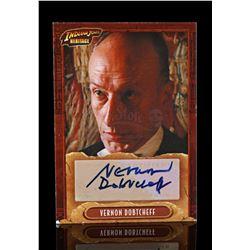 "Lot # 683: Vernon Dobtcheff-Autographed ""The Butler"" Trad"