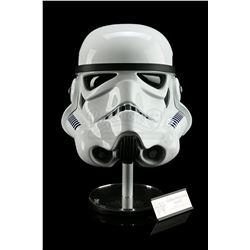 Lot # 688: Replica Stormtrooper Helmet