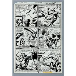 Lot # 703: Hand-Drawn Original Art Used to Create Page 38