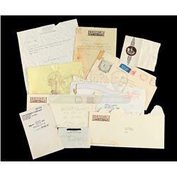 Lot # 707: Various Production Paperwork