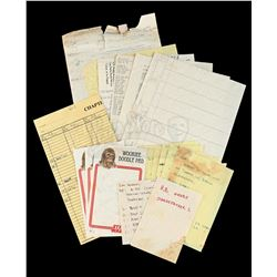 Lot # 708: Production Paperwork and Notes