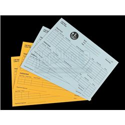 Lot # 711: 4 ILM Paper Time Cards