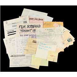 Lot # 714: Various Production Paperwork