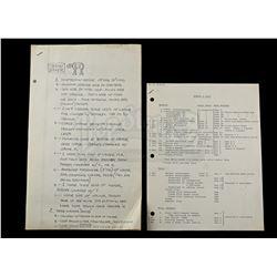 Lot # 719: ESB Models And Sets Paperwork