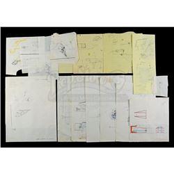 Lot # 724: Hand-Drawn Charlie Bailey Snow Speeder Air Bra