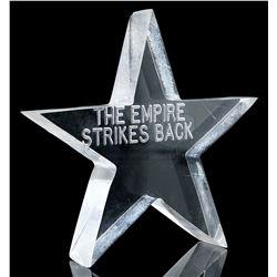 Lot # 736: Lucasfilm Lucite Star Crew Gift