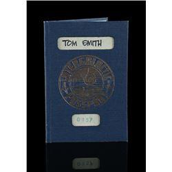 Lot # 739: George Lucas-Signed Intergalactic Crew Passpor