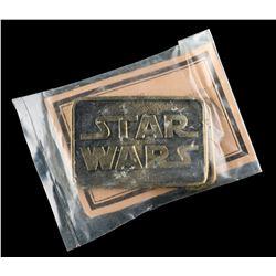 Lot # 746: Star Wars Brass Belt Buckle [Kazanjian Collect