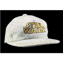 Lot # 747: Grey Star Wars Hat [Kazanjian Collection]
