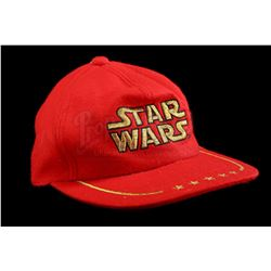 Lot # 748: Hyashi Red Five Star Hat [Kazanjian Collection