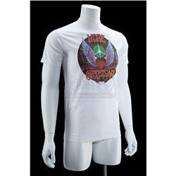 Lot # 749: White Crew Shirt [Kazanjian Collection]