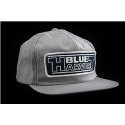 "Lot # 762: ""Blue Harvest"" Crew Hat [Kazanjian Collection]"