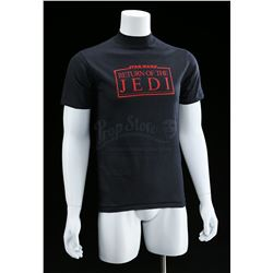 "Lot # 768: Black ""Revenge Of The Jedi"" Crew Shirt [Kazanj"
