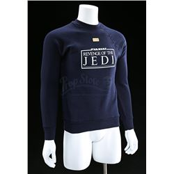 "Lot # 769: Blue ""Revenge Of The Jedi"" Crew Sweater [Kazan"