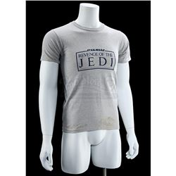 "Lot # 771: Grey ""Revenge Of The Jedi"" Crew Shirt"