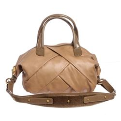 Marc by Marc Jacobs Tan Leather Satchel Handbag