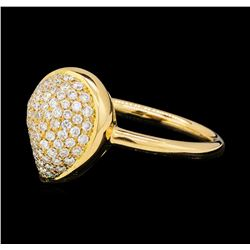 0.50 ctw Diamond Ring - 18KT Rose Gold