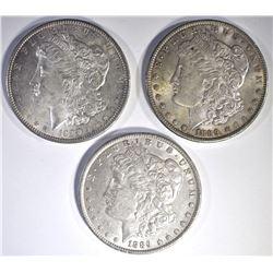 3-1889 CH BU MORGAN DOLLARS