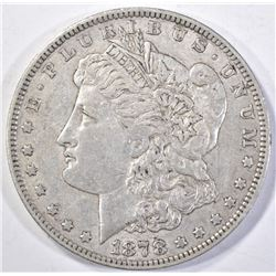 1878 7TF MORGAN DOLLAR, CHOICE XF/AU SUPER ORIGINA
