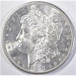 1881-S MORGAN DOLLAR, CH BU PROOF-LIKE