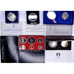 MODERN COMMEMS  AND PROOF SETS