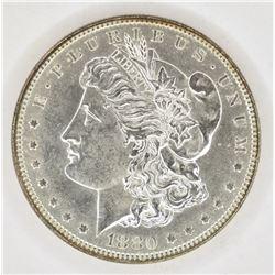 1880 MORGAN DOLLAR CH/GEM BU