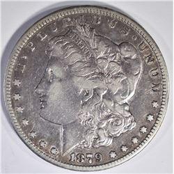 1879-CC MORGAN DOLLAR  VF+