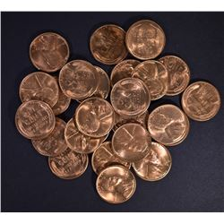 25-BU 1946-S LINCOLN CENTS