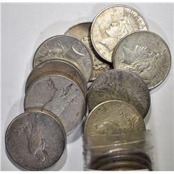 5-1922, 5-22-D & 5-22-S AVE CIRC PEACE DOLLARS