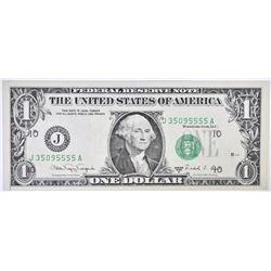 1988 A $1 FRN  GEM BU