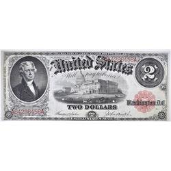 1917 $2 LEGAL TENDER