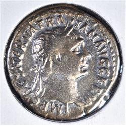 98-117 AD  SILVER DENARIUS EMPEROR TRAJAN