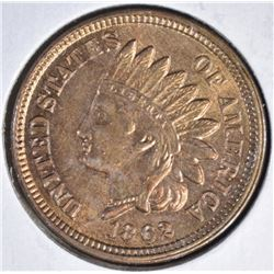 1862 INDIAN CENT  CH BU