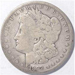 1892-CC MORGAN DOLLAR   GOOD