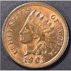 1901 INDIAN CENT, CH BU RB