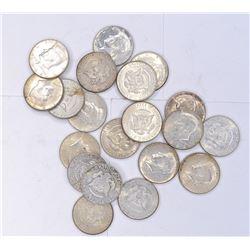 20-1964 KENNEDY HALF DOLLARS