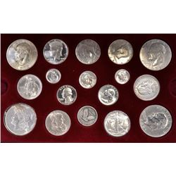 AMERICA'S SILVER COINS COLLECTION