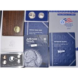 LINCOLN & JEFFERSON SETS AND US PROOF COINS